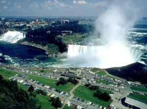 Vista de las cataratas del Niagara