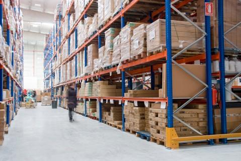 estanterías convencionales para carga paletizada de Noega Systems